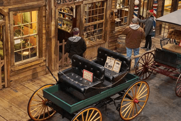 Ghost Town Museum in Colorado